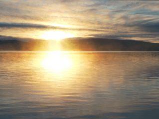 Sunrise in the Raanujärvi