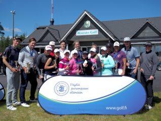 U21 ja U18 Suomen mestaruusmitalistit Alastaro Golf