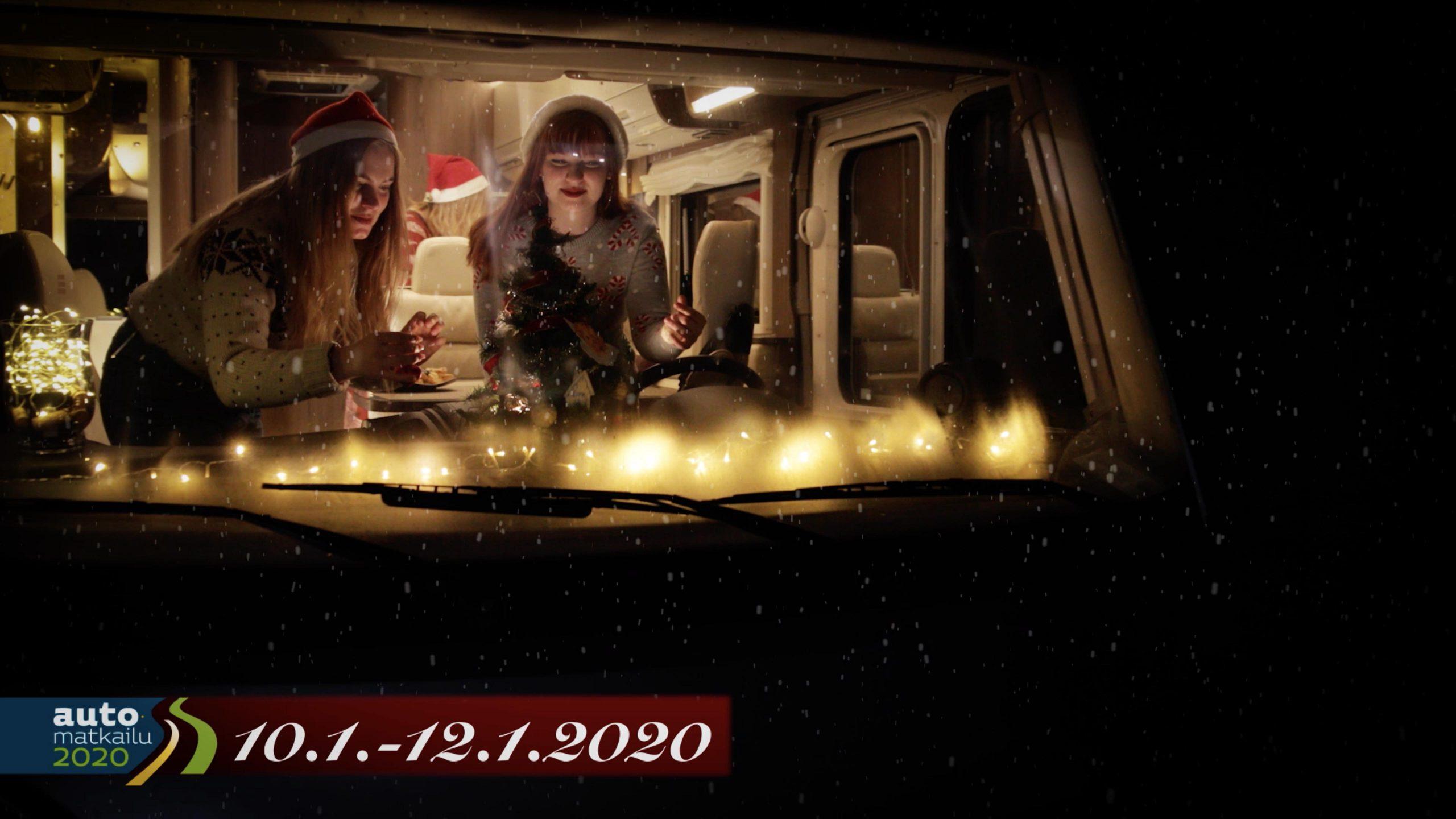 Automatkailu 2020 Joulutervehdys mainos